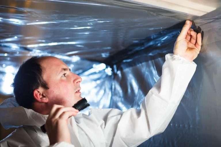 An asbestos refurbishment survey in action in Northampton