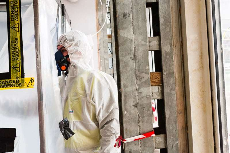 What happens when asbestos goes wrong?