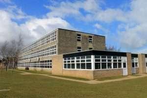 Asbestos in school image