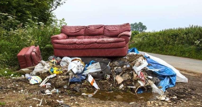 asbestos dumping in northamptonshire