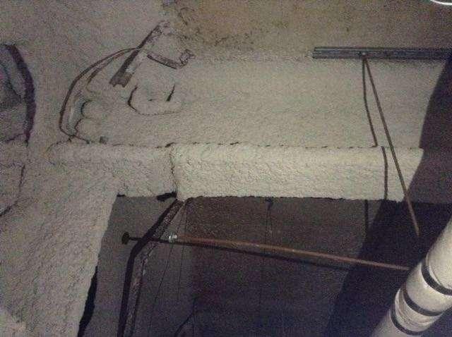 Asbestos Spray Coatings