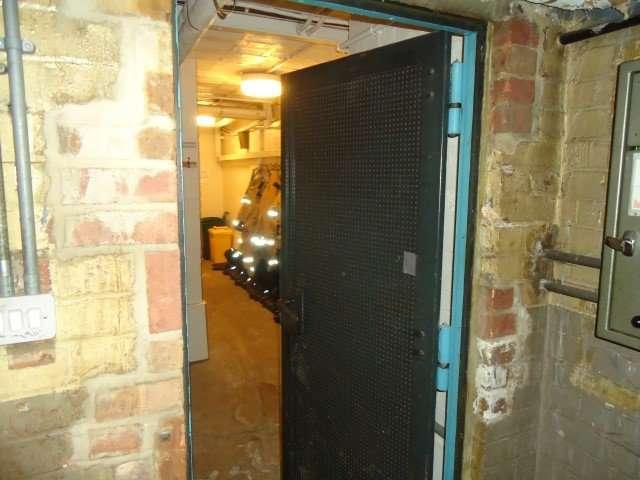 AIB durasteel door in fire station