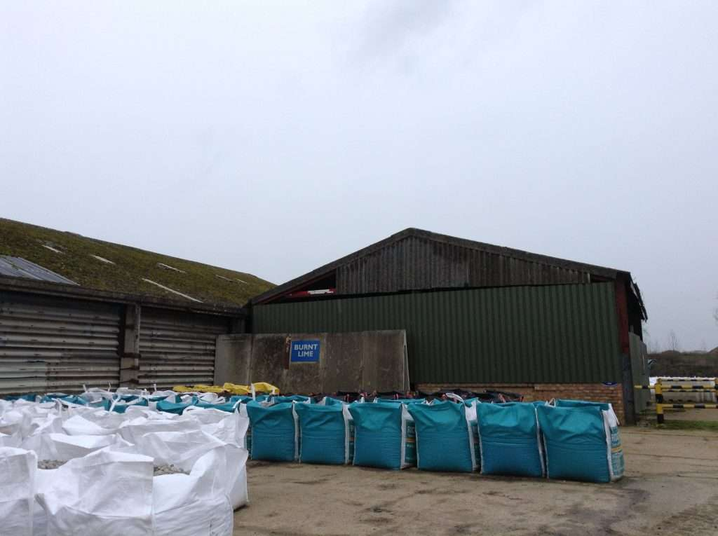 Asbestos cement gable end and roof