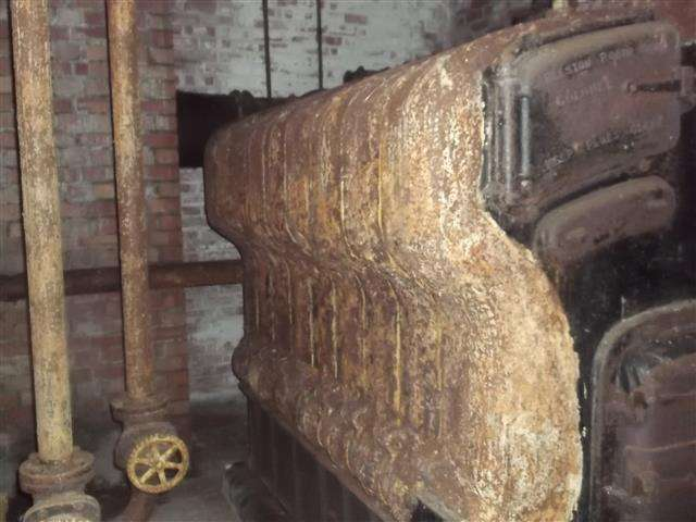 Asbestos rope gaskets to Robin Hood boiler