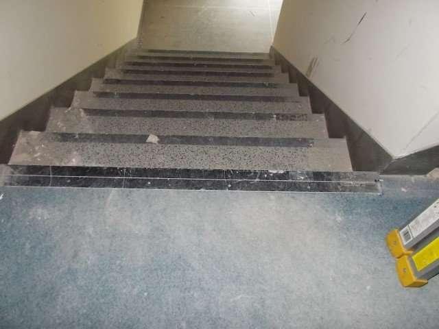 Asbestos stair tread