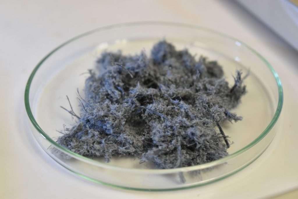 Crocidolite Asbestos (Blue)