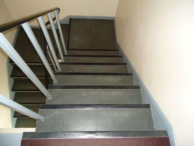 Asbestos Floor tiles and resin nosing