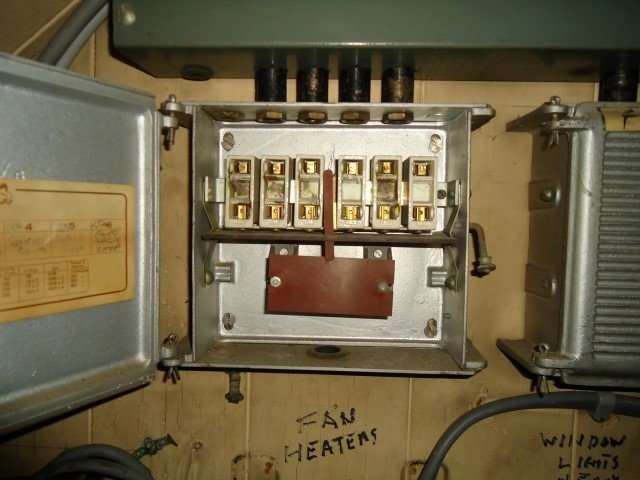 Fuse suppressors in small electrical box