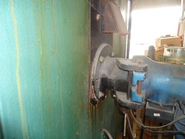 Asbestos gasket to industrial heater