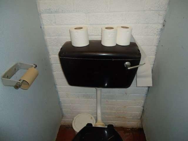 Pub asbestos toilet cisterns