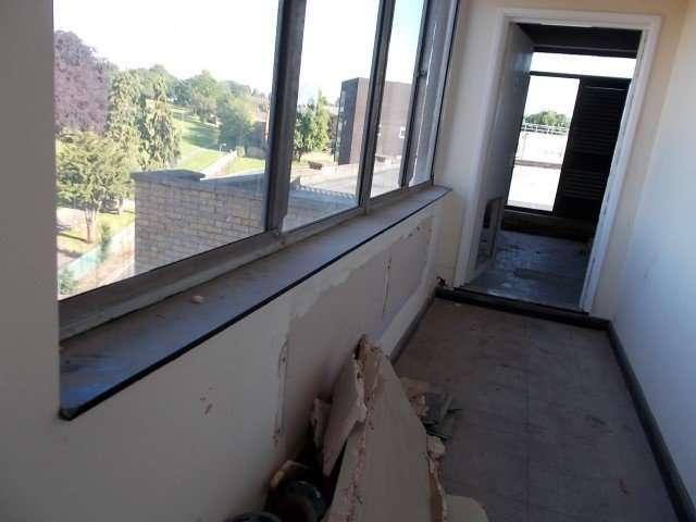 Resin asbestos window sills
