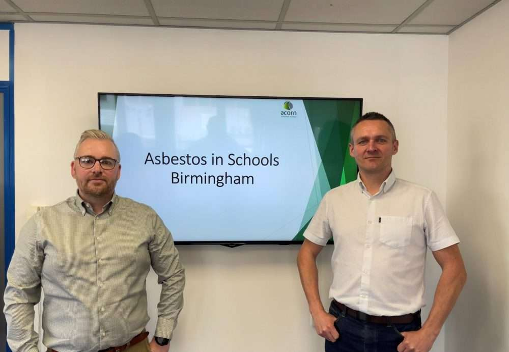 Acorn campaign targets asbestos in schools.